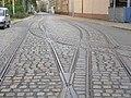 Liberec, Tatranská, výhybka u vozovny.jpg