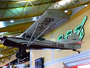 Aircraft Hanging from the Ceiling in Faro Airport