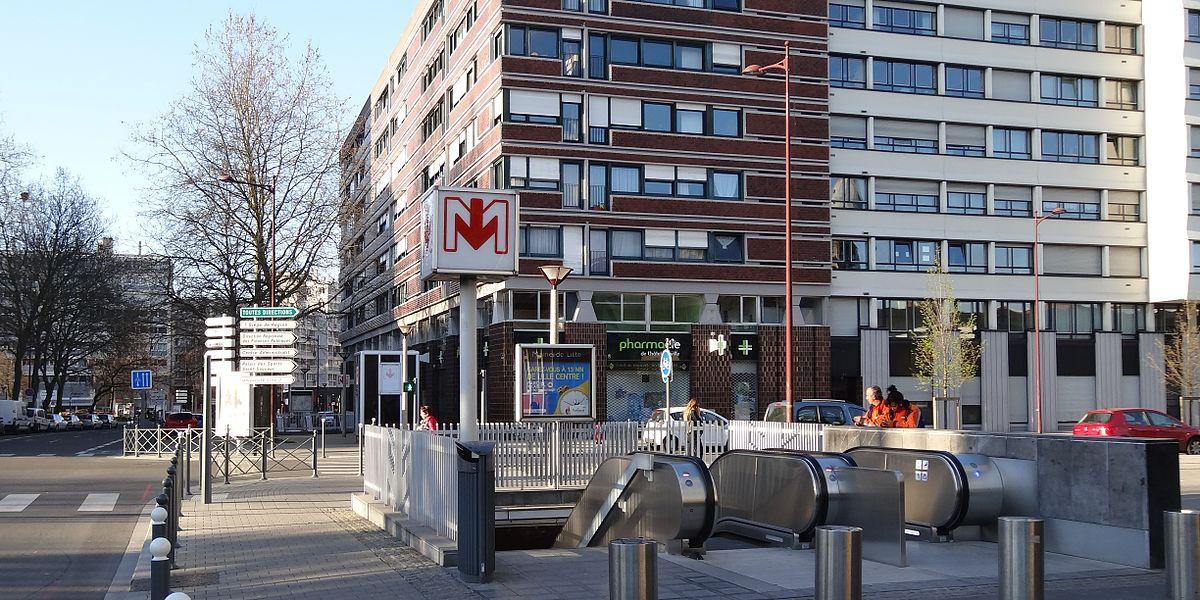 Mairie de lille metrostation wikipedia - Station essence porte des postes lille ...