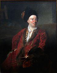 Le peintre Jean-Baptiste Forest