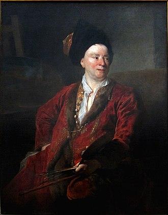 Jean-Baptiste Forest - Nicolas de Largillière, Portrait of Forest (1704), Palais des Beaux-Arts de Lille.