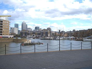 Limehouse Basin - The Limehouse Basin, 2004
