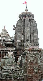 Main buildings of Lingaraj temple