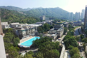 Lingnan University (Hong Kong) - Lingnan University Campus in Fu Tei, Tuen Mun