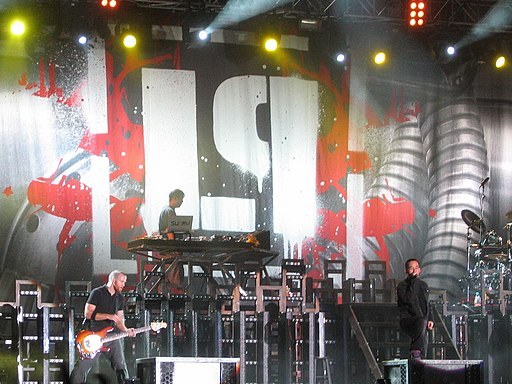 Linkin Park at the Novarock Festival