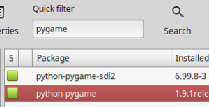 PyGame Guide/Getting Ready - Wikibooks, open books for an