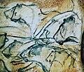 Lions painting, Chauvet Cave (museum replica).jpg