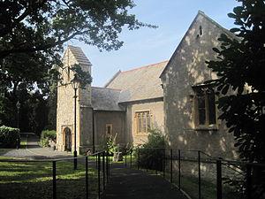 St. George, Conwy - Image: Llan San Sior, Sir Conwy, Cymru St George, North Wales 19