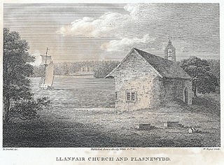 Llanfair Church and Plasnewydd