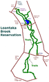 Loantaka Brook Trails Morris County NJ map.png