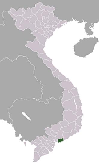 Phước Tuy Province - Phước Tuy location map
