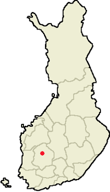 Location of Kuru in Finland.png