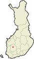 Location of Kuru in Finland.png