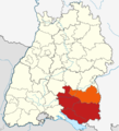 Locator map Oberschwaben in Baden-Württemberg.png