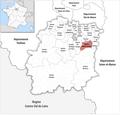 Locator map of Kanton Corbeil-Essonnes 2019.png