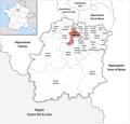 Locator map of Kanton Longjumeau 2019.png
