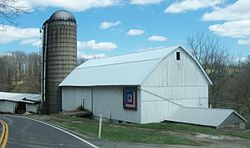 Barn on State Route 646