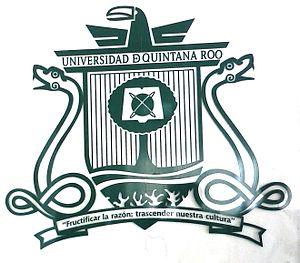 University of Quintana Roo - Image: Logo UQ Roo en vidrio