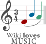 Wiki Loves Music contest logo