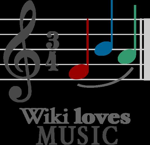 Logo Wiki Loves Music