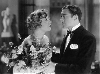 Theodore von Eltz - with Lois Wilson in a scene from The Furies (1930)