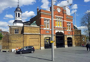 Royal Arsenal Gatehouse - Image: London, Woolwich, Beresford Sq, Royal Arsenal Gatehouse