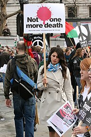 London Mar 15 2008 Stop the War protest AB 1.JPG
