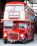 London Transport Museum Routemaster prototype RM1 (SLT 56), Showbus 2004 (2).jpg