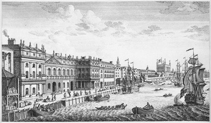 London customs house 18th century