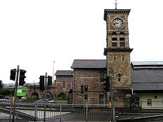 Londonderry railway station - The original Waterside station
