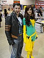 Long Beach Comic & Horror Con 2011 - Wolverine and Phoenix (6301705330).jpg