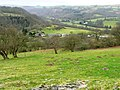Looking down to Aberedw - geograph.org.uk - 694047.jpg
