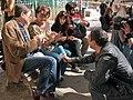Los hombres también tejen. Tejiendo Malasaña 2014 (13068243213).jpg