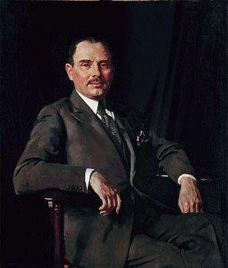 Sir Louis Baron, 1st Baronet - Louis Bernhard Baron (William Orpen, 1926)