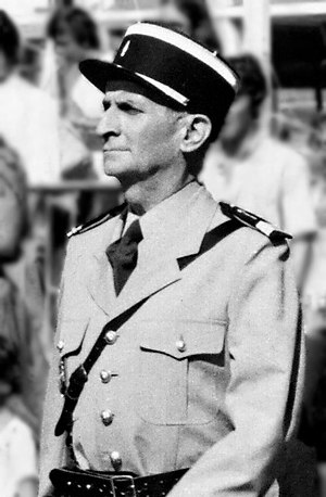 Louis de Funès - Louis de Funès during the filming of The Gendarme and the Extra-Terrestrials, in 1978.