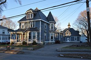 Wilder Street Historic District - Image: Lowell MA Wilder Street HD
