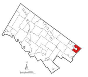 Lower Moreland Township, Montgomery County, Pennsylvania - Image: Lower Moreland Township Montgomery County