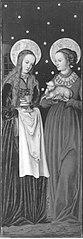 Altarflügel: Hll. Barbara und Agnes (Anonymer Meister seiner Werkstatt)
