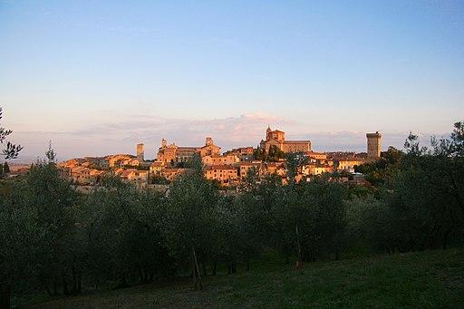 Lucignano, panorama nord