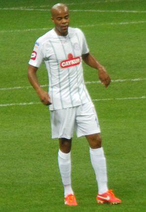 Ludovic Sylvestre - Sylvestre playing for Çaykur Rizespor in 2013