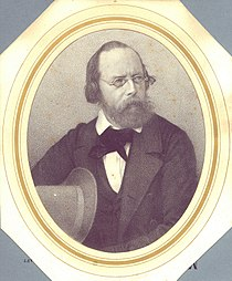 Ludwig Becker Self Portrait (between 1850..1861) SmallFiltered.jpg