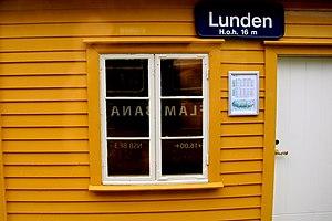Lunden Station - Image: Lunden stasjon Flåmsbana