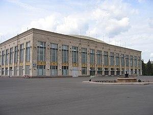 Дворец спорта Лужники в Москве - крытая универсальная многофункциональная площадка со зрительным залом.