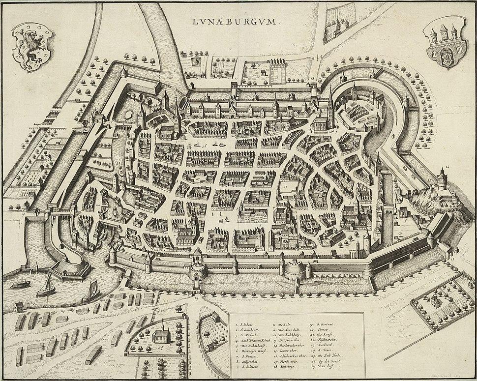 Lvnaeburgvm um 1682