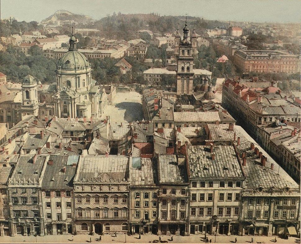 Lw%C3%B3w.Panorama miasta