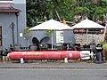 Lynmouth, North Devon, England. Torpedo display.jpg