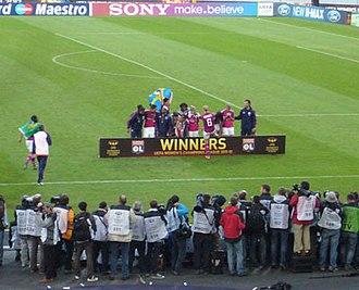 2012 UEFA Women's Champions League Final - Image: Lyon v FFC 03