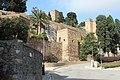 Málaga, the walls of the Alcazaba, image 3.JPG