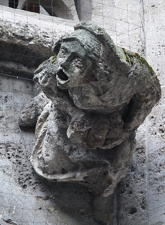 Gargoyle is on the New Town Hall (Neues Rathaus) on the northern Marienplatz in Munich