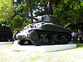 M4 Sherman Tank Display in Chengkungling 20121006b.JPG